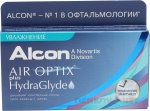 Air Optix plus HydraGlyde  3 линзы